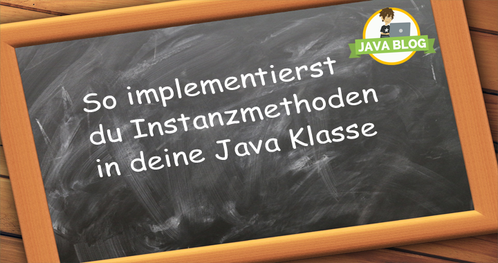 Java Instanzmethoden content