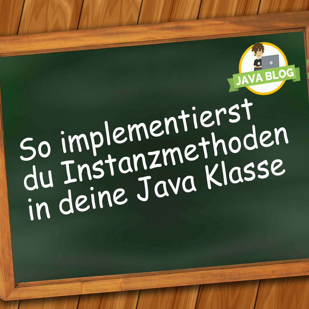 Java Instanzmethoden