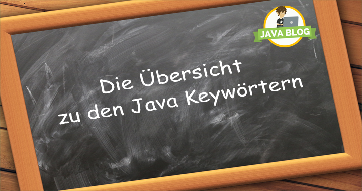 Java Keywörter