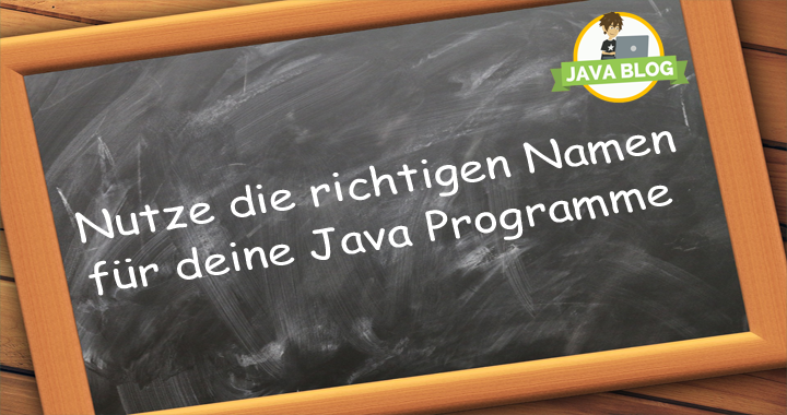 Java Namenskonventionen