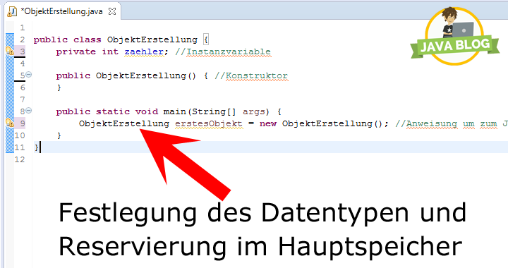 Java Objekt Datentyp