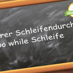 Java Do While Schleife