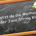 Java Strings Methoden