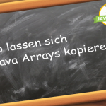 Java Arrays kopieren