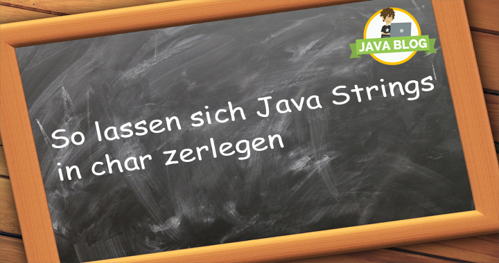 Java Strings zerlegen char