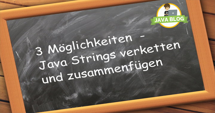 Java Strings verketten