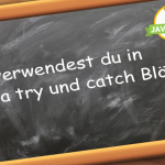 Java try und catch