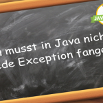 Java Exception fangen