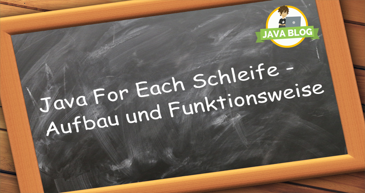 Java for each Schleife